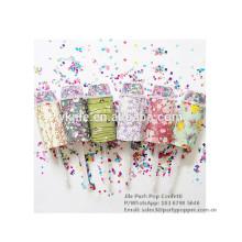 Pop Party Pop Confetti pour anniversaire, mariage, fête de Noël