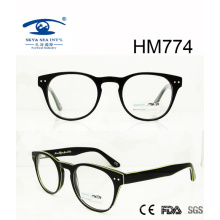 Hot Sale Fashion Popular Acetate Glasses Frame (HM774)