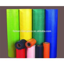 Gris en fibre de verre 120gr / m2 couleur verte