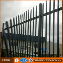 Powder Coated Metal Picket Residential Fencing