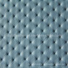 Couro de PVC para móveis de alta venda (QDL-FV026)