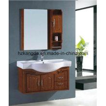 Gabinete de banheiro de madeira maciça / vaidade de banheiro de madeira maciça (KD-451)