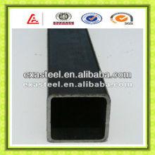 Black Square Construction Steel Pipe