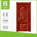 Latest modern style sun proof solid wood door with interior door design made in china
