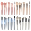 Private Label einfaches Design 8 Stück Make-up Pinsel Set
