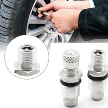 Stainless Steel Tubeless Tire Valve  Sturdy And Durable Tire Valve Short Rod For Car Truck Motorcycle Inflation