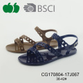 New Design Summer Fashion Cheap Pvc Sandals