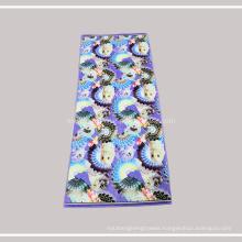OEM 100% Cotton Antibacterial Face Hand Towel, Bright Color Woven Bath Towel