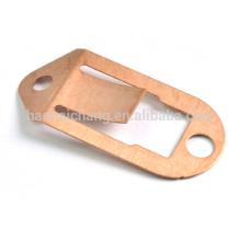 Metales de chapa de acero inoxidable metralla de cobre de precisión
