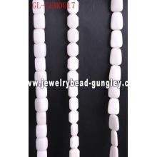 Естественный белый каменный шарик