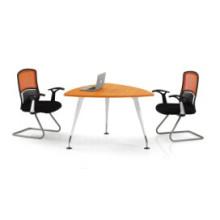 Réunion de bureau de triangle à bois haut / table de netogiation (FOH-QH12-A)
