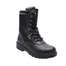 New Designed Hot Sell Smooth Leather & Fabric Safety Shoes (HQ6003)