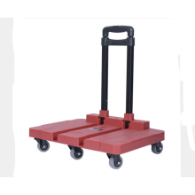 Light-duty folding travelling luggage cart hand buggy