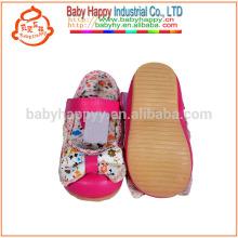 Neue Frühjahr Jugend Leder Baby Kleid Schuhe und Gummisohle
