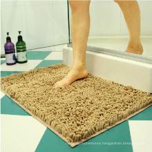 Home machine washable carpet rug chenille bath mat
