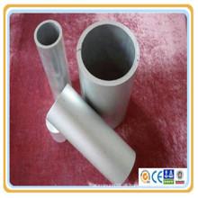 6061 (N20 / H20) 6063 (HT9) 6101A (E91E) 6262 moinho anodizado de liga de alumínio acabado tubo / tubo de areia