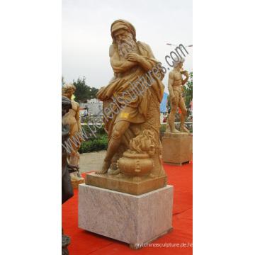 Garten Stein Carving Marmor Skulpturen für Outdoor Dekoration (SY-X1643)