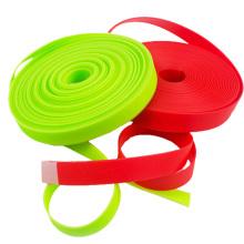 Красочные Водонепроницаемый пластиковым покрытием лямки ремня на ошейник материалов