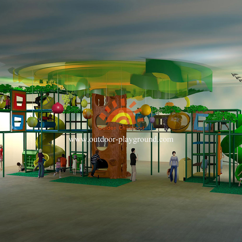 Children Jungle Themed Playground Set