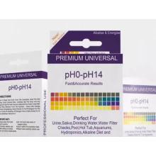 tira de papel de teste de ph universal super sensível 0-14