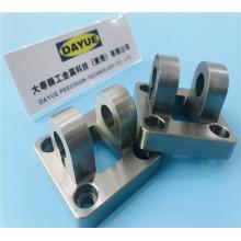 CNC-Frästeil aus eloxiertem Aluminium, Messing, Edelstahl