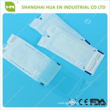 Self-sealing sterilization flat pouches