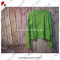 JannyBB green long sleeve girls knit sweater
