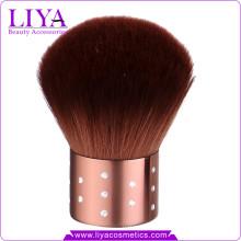 Private Label Kabuki rasage brosse avec poils synthétiques doux