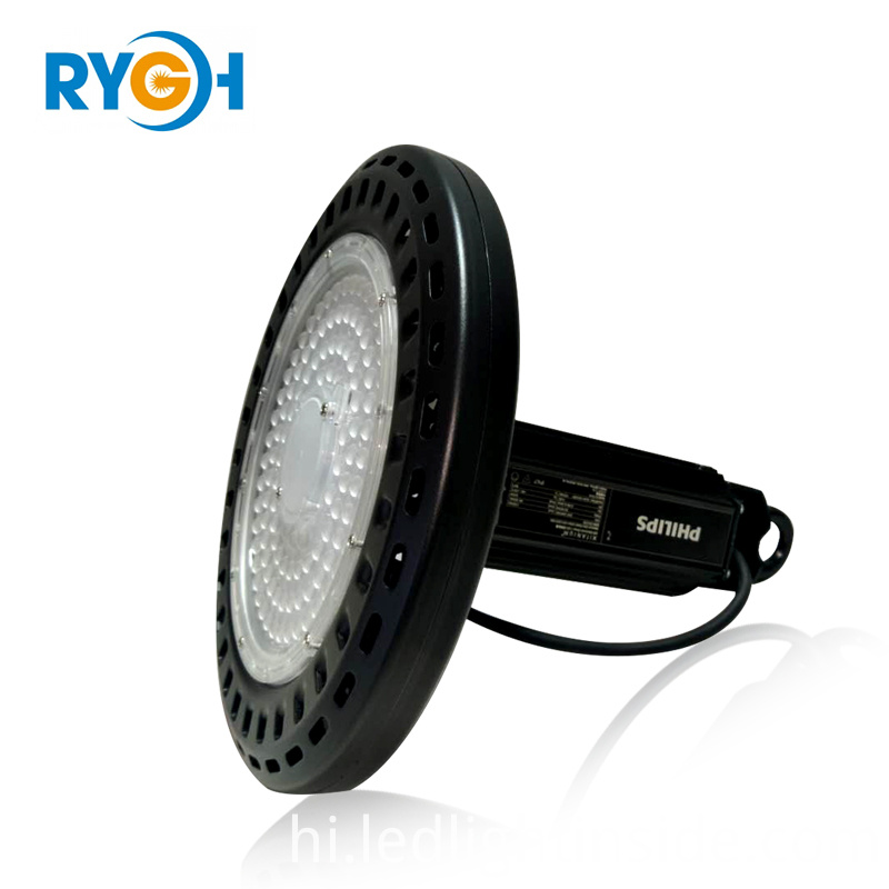 factory direct sale Waterproof 150w industrial led lamp philips driver super slim
