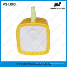 Lanterne radio solaire avec chargeur USB Lecteur MP3 Multifonction portable LED