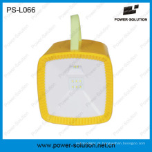 Lanterna de rádio de energia solar com carregador USB MP3 Player portátil multifuncional LED Light