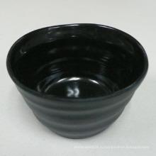 """3.5"""" меламин круглый чаша внутри блестящая, снаружи матовое/100%меламина посуда (IW12136)"""