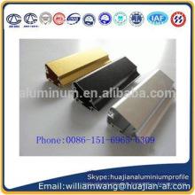 Profil en aluminium anodisé
