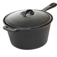Cast Iron Sauce Pan /Milk Pot/Dutch Oven with Lid