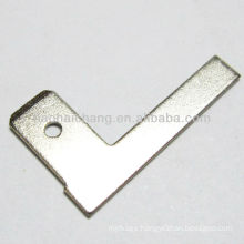 250 L shape steel nickel plated flat terminal used for electric water heater / electric heater