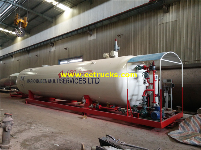 25Ton Skid-mounted LPG Filling Plants