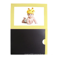 Wholesale Custom Colorful Plastic Photo Frame Fridge Magnet
