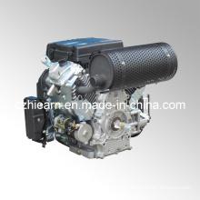 Air-Cooled Two Cylinder Lifan Gasoline Engine (2V78F)