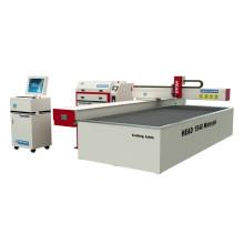 Wasserstrahl glas cnc schneidemaschine komplizierte schneiden schneiden schneiden
