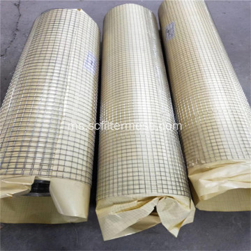 Panel Wire Mesh Welded Stainless Steel 316L