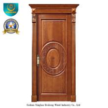Europäische Art-feste hölzerne Tür Forinterior oder Äußeres mit dem Schnitzen (ds-8038)