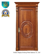 European Style Solid Wood Door Forinterior or Exterior with Carving (ds-8038)