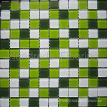 Mosaïque de piscine en mosaïque de verre de cristal (HSP307)
