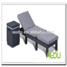 Audu Aluminium Outdoor Rattan Rotating Beach Chair