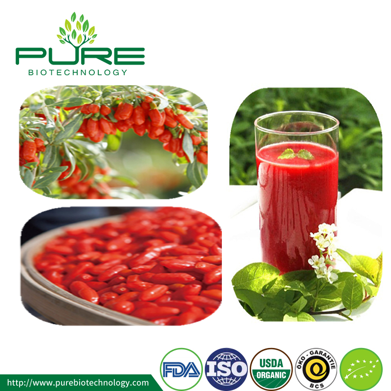 Organic Clear Goji Juice Concentrate Goji Juice Puree Goji Juice 4