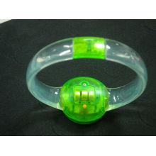 bracelete iluminado conduzido controlado sadio do diodo emissor de luz venda QUENTE
