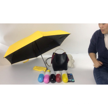 Totes Mini Werbegeschenk UV 5-fach Kapselschirm