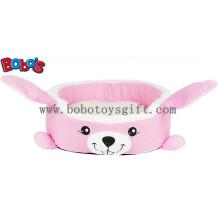 Warmes weiches Plüsch-Karikatur-Kaninchen-Form-Haustier-Bett für Welpen-Katzen-Hund Bosw1093 / 45X40X13cm