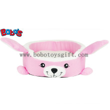 Warm Soft Plush Cartoon Rabbit Shape Pet Bed for Puppy Cat Dog Bosw1093/45X40X13cm