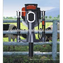 52mm Benzin Gas angetriebene elektrische Macht Handheld Star Picket Piling Driving Machine Benzin Zaun Pile Driver Hammer